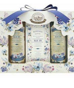 Darčeková kazeta Blue Spa morská v romantickom luxusnom balení s extraktom morských rias a solí z Mŕtveho mora