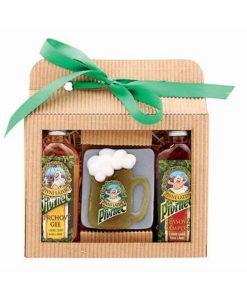 Darčeková kazeta pivná Pivrnec obsahuje pivný sprchový gél 100 ml, pivný šampón 100ml, pivné mydlo.