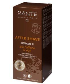 BIO voda po holení HOME II kofein - pánska BIO kozmetika s drevito-korenistou vôňou. revitalizuje a osviežuje pokožku. Je vhodná i na veľmi citlivú pleť.