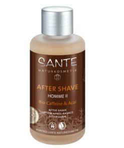 BIO voda po holení HOME II kofein - pánska BIO kozmetika s drevito-korenistou vôňou. revitalizuje a osviežuje pokožku. Je vhodná i na veľmi citlivú pleť