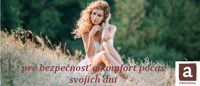 Anionove menštruačné vložky a tampóny
