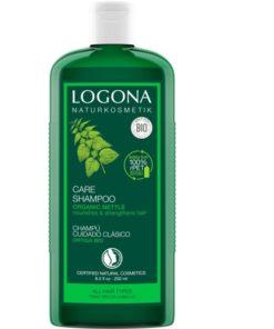 BIO žihľavový šampón, čisto prírodná vlasová kozmetika na mastné vlasy, BIO kozmetika na vlasy proti vypadávaniu vlasov, sampon bez parabenov a silikonov