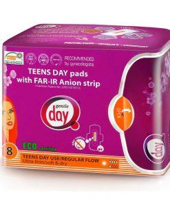 ECO Anionové vložky Teens denné 8 ks, proti mykozam, pri náchylnosti na infekcie, na denné použitie, absorbujú 3-4x viac tekutiny ako bežné vložky.