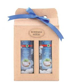 Darčeková kazeta Mŕtve more Bohemia Herbs - Jemná kozmetika s extraktom morských rias a soľou z Mŕtveho mora