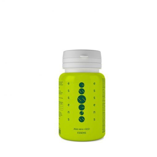 Aloe Vera + Q10 proti chronickej únave, chráni pred predčasným starnutím, pri oslabení organizmu, úbytku síl. Je zmes vitamínov, minerálov, aminokyselín