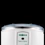 Jogurtovač na prípravu domácich probiotických jogurtov vyznačuje sa mimoriadne jednoduchou obsluhou bez nutnosti akéhokoľvek nastavovania, ovládania alebo dohľadu. Ohrev obstaráva samoregulačné inteligentné vykurovacie teleso PTC zaručujúce najvyššiu možnú bezpečnosť a súčasne úspornú prevádzku.