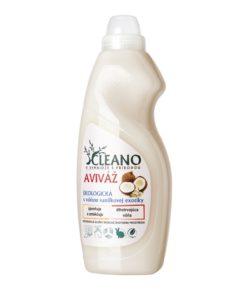 EKO aviváž Vanilková exotika - jemná vôňa sladkej vanilky - pre jemnú bielizeň, jednoduché žehlenie, neodolateľnú vôňu a ZDRAVÚ POKOŽKU. Koncentrovaná