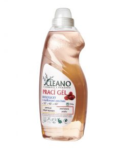 EKO Prací gél s mydlovými orechmi - koncentrovaný, účinný na farebné prádlo pri praní pri nízkych teplotách, nevyvoláva alergické reakcie, EKO drogéria