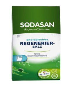 EKO soľ do umývačky riadu regeneračná, proti vodnému kameňu na riade. Vhodná pre všetky typy domácich umývačiek na riad. 100% čistá hrubozrnná kamenná soľ