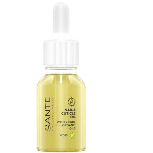 Olej na nechty Ultra Nourishing - hĺbková intenzívna hydratácia nechtov a koštičky v okolí nechtov. Je bohatý na vitamín E. Čisto prírodná kozmetika, BIO