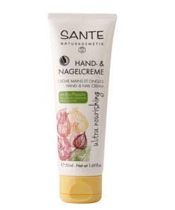 Krém na ruky a nechty Ultra Nourishing - bio kozmetika. Intenzívna výživná starostlivosť o suché ruky a nechty s BIO bambuckým maslom a BIO jojobovým olejom