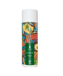 Bio šampón Repair BIOTURM zlepšuje štruktúru vlasov. Intenzívny. Obsahuje výťažky z bio lipových kvietkov a extrakt z bio ovsa. Bez chémie, silikonov. VEGAN