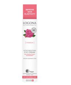 BIO očný krém damašská ruža regeneračný a hĺbkovo hydratačný pre suchú pleť, redukuje vrásky. Vhodný pri používaní kontaktných šošoviek. S damašskou ružou