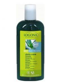 BIO šampón Aloe Verbena Logona, bio kozmetika na vlasy, bez chémie. Na normálne vlasy s olivovým olejom. Bez sulfátov, bez syntetických farbív a parfémov