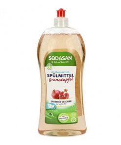 EKO - umývanie riadu Granátové jablko, ekologický prostriedok na riad. VEGAN. EKO drogéria, EKOcert. Žiadne zbytky nežiadúcich chemických látok