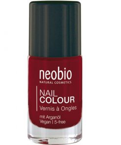 Neobio lak na nechty 06 Vampires Dream, prírodné laky na nechty Neobio, trvácny bez formaldehydu a toluenu nechty nevysušuje, zabraňuje lámaniu, štiepeniu