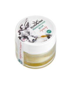 Ochranný aromaterapeutický balzam pri nachladnutí, na uvoľnenie dýchacích ciest pri kašli. Zmierňuje suchý dráždivý kašeľ, uvoľňuje upchatý nos, od 6 mesiac. 100% čisto prírodná kozmetika