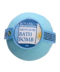 Guľa kúpeľová Mŕtve more, prírodná kozmetika na suchú pokožku. Šumivá kúpeľová guľa ponúka dokonalú starostlivosť a uvoľnenie celému telu.