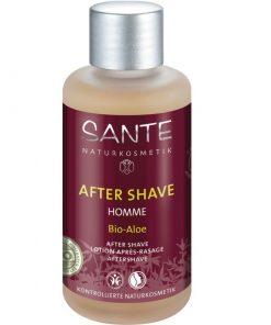 BIO voda po holení aloe HOMME - pánska BIO kozmetika s korenisto-citrusovou vôňou. revitalizuje a osviežuje pokožku. Je vhodná i na veľmi citlivú pleť.