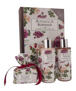 Darčeková kazeta šípky a ruža. Kozmetický darčekový balíček je originálne vymyslený ako knižka. Originálny darček pre ženu, z výrobkov prémiovej kozmetiky