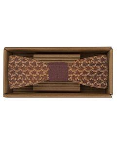 Drevený motýlik Vlny - originálny darček pre muža. Ľahká, hravá móda, nevtieravý šarm a elegancia. S dreveným motýlikom nič nepokazíte. Aj na svadbu.