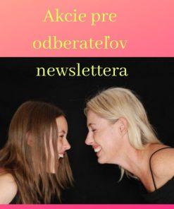 Akcie pre odberateľov newslettera