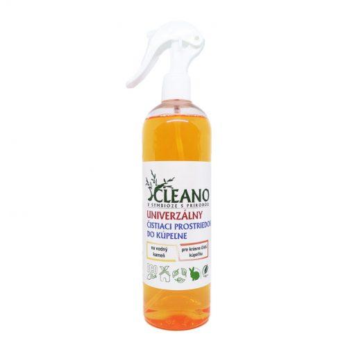 Eko univerzálny čistiaci prostriedok Cleano, koncentrovaný - WC, kúpeľne, obklady. Na vodný kameň, škvrny od močoviny, hrdze a plesní. Eko drogéria