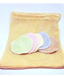 Odličovacie tampóny s vreckom Zero Waste. Vrecko na pranie a 5 ks tampónov a máš vystarané na dlho. Aj ušetríš, aj netvoríš odpad. Pranie v práčke na 40-50°