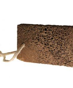 Prírodná vulkanická pemza. Odstráni odumretú pokožku z chodidiel. Vhodná na časté ošetrenie pre praskajúce päty a suché chodidlá.