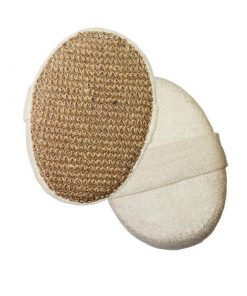 Prírodná špongia JUTA - špongia a peeling pre rýchle sprchovanie. Ideálne pre ľudí, ktorí žijú rýchlo. Froté a juta pre jemný peeling počas sprchovania