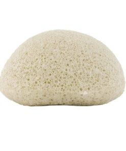 prírodná špongia Konjak biela pre umývanie pokožky bez mydla. Toto je tajomstvo japonských žien a ich krásnej pleti. Ekologická huba, rozložiteľná