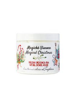 Magické Vianoce sprchovacia pena - vianočný darček pre ženu. 100% Prírodná kozmetika, aj pre staršie deti. Najlepší darček na vianoce.