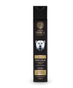 Osviežujúci pánsky sprchový gél Biely Medveď - prírodný sprchový gél. Prírodná kozmetika pre muža, certifikovaná bez parabénov, silikónov