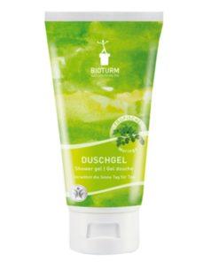 Bio sprchový gél Moringa Bioturm - bio kozmetika, vegan. Obsahuje moringový olej. Pokožku hydratuje, osviežuje, nevysušuje. Netestované na zvieratách