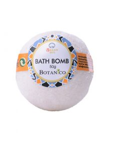 Guľa kúpeľová Arganový olej, prírodná kozmetika na suchú pokožku. Šumivá kúpeľová guľa ponúka dokonalú starostlivosť a uvoľnenie celému telu.