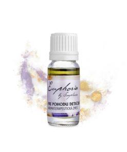 Pre pohodu detičiek aromaterapeutická zmes prírodných silíc. Uľahčuje dýchanie, vykašliavanie azároveň bojuje proti kašľu ato nielen pri chorobe.
