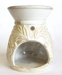 Aromalampa Venezia keramická s extra hlbokou miskou, je vhodná ako darček pre ženu i muža. Elegantný moderný bytový doplnok