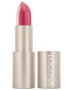 BIO rúž na pery 04 Hibiscus Logona. Prírodná BIO dekoratívna kozmetika, intenzívna farba. Vyživuje pery, trvácny rúž na pery. Pre pekné, hodvábne jemné pery