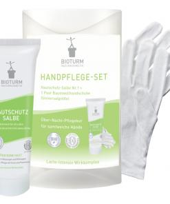 BIOTURM regeneračná kúra na ruky pre popraskanú a suchú pokožku. Obsahuje ureu, pnathenol, lakto-aktívny komplex. Vhodný pre alergikov