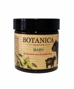 Balzam na bradavky - 100% čistá prírodná kozmetika pri kojení. Účinná regenerácia precitlivenej a popraskanej pokožky bradaviek a celého poprsia