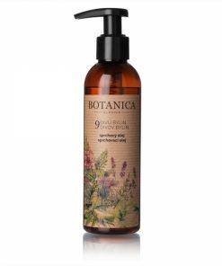 Sprchovací olej 9 divov bylín - 100% čisto prírodný sprchovací gél, určený na každodenné šetrné očistenie pokožky tela. Nevysušuje pokožku. Bez silikonov