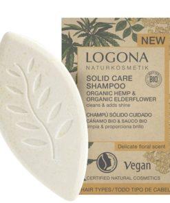 Tuhý konopný šampón BIO baza, mydlo na vlasy. 100% biokozmetika. Čistí a hydratuje vlasy a pokožku hlavy. Bezparabénová kozmetika, čisto prírodná