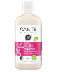 BIO šampón HENNA Volume - čistá biokozmetika na vlasy. Vyhladzuje vlasovú štruktúru, dodáva objem - BIO Goji a bezfarebná Henna. Pre celú rodinu