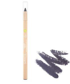 BIO Prírodná ceruzka na oči 03 Navy Blue so včelím voskom a ricínovým olejom, aj na citlivé oči, prírodná dekoratívna kozmetika, 100% BIO kozmetika