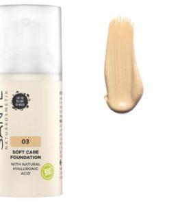 BIO make up 03 Warm Meadow s kyselinou hyaluronovou - 100% bio kozmetika pre prirodzené krytie. Obsahuje oleje pre dokonalú výživu pleti v každom veku