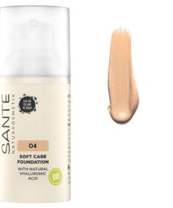 BIO make up 04 Warm Honey s kyselinou hyaluronovou - 100% bio kozmetika pre prirodzené krytie. Obsahuje oleje pre dokonalú výživu pleti v každom veku