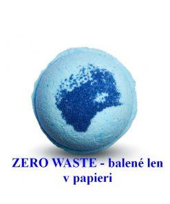 Šumivá guľa MUŽ XL - zero waste, pánska 100% prírodná kozmetika. Teplý kúpeľ s kúpeľovou guľou prináša osvieženie, relaxáciu. Balené v recyklovanom papieri