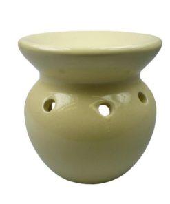 Aromalampa žltá, moderný elegantný bytový doplnok. Vhodný aj ako dekorácia do detskej izby či kúpeľne. Pre použitie vonnych voskov a esencialnych olejov