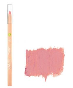 BIO ceruzka na pery 01 Gentle Rose SANTE - 100% čisto BIO prírodná dekoratívna kozmetika s vyživujúcimi olejmi a s obsahom BIO bambuckého masla.