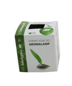 Vonné vosky Eukalyptus 8 kociek s esenciálnym olejom v palmovom vosku, vhodné pre malé aromalampy. Bez nebezpečných syntetických prísad. 100% prírodný
